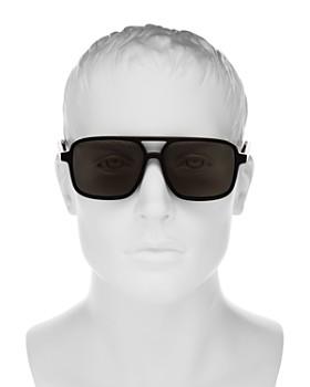 Saint Laurent - Men's Brow Bar Aviator Sunglasses, 59mm