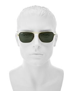 Ray-Ban - Men's Brow Bar Aviator Sunglasses, 58mm