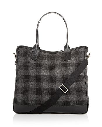 The Men's Store at Bloomingdale's - Plaid Wool Tote - 100% Exclusive