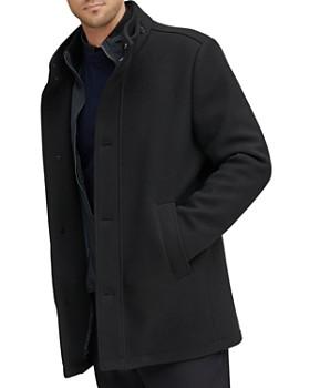 Andrew Marc - Westcott Bib-Front Stretch Car Coat