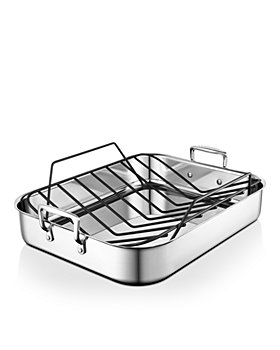 Le Creuset - Large Roasting Pan w/ Nonstick Rack