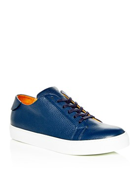 Collegium - Men's Pillar Leather Lace Up Sneakers