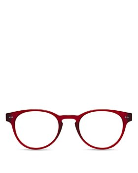 Look Optic - Unisex Abbey Round Blue Light Glasses, 47mm