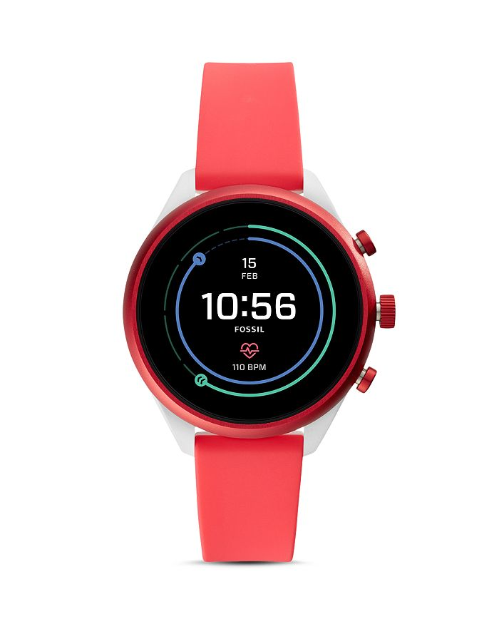 Fossil SPORT BRIGHT RED WATCH, 41MM