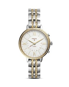 Fossil - Jacqueline Two-Tone Hybrid Smartwatch, 36mm
