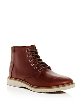 TOMS - Men's Porter Water-Resistant Leather Boots