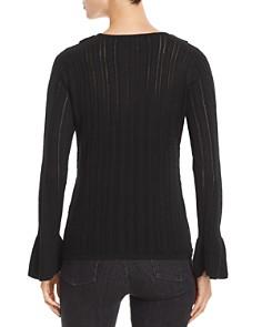 Design History - Ruffled Pointelle Sweater