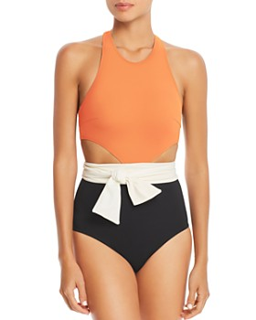 Flagpole - Lynn Color-Block One Piece Swimsuit - 100% Exclusive
