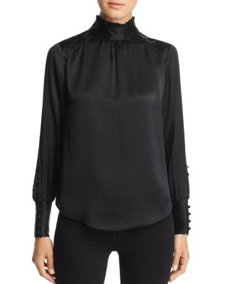 Victorian Textured Blouse by Go By Go Silk