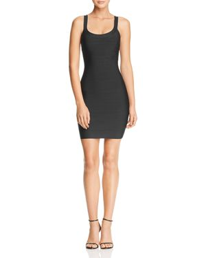 WOW COUTURE Aliana Bandage Dress in Black