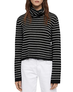 ALLSAINTS - Marty Striped Turtleneck Sweater