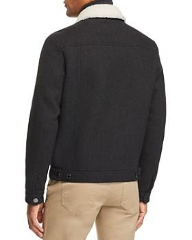 Michael Kors - Faux Shearling-Lined Tweed Trucker Jacket