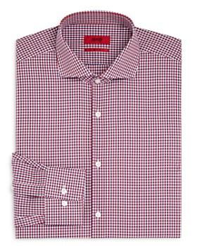 HUGO - Plaid Regular Fit Dress Shirt