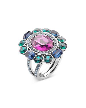 ATELIER SWAROVSKI By Tabitha Simmons Cocktail Ring in Purple