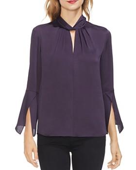 VINCE CAMUTO - Handkerchief-Sleeve Blouse