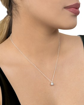 Dogeared - Love Is Love Necklace in Sterling Silver, 16""