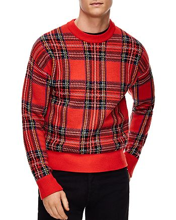 Sandro - Tartan Plaid Sweater