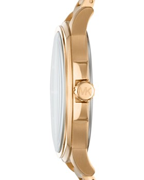 Michael Kors - Bryson Gold-Tone Bracelet Watch, 42mm