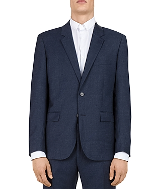 The Kooples Sea Checks Wool Slim Fit Sport Coat-Men