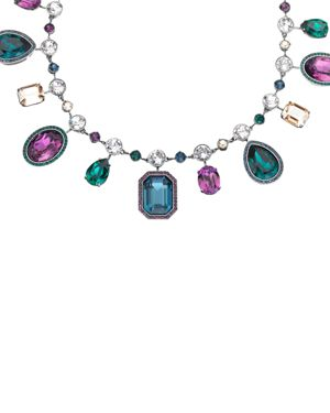 ATELIER SWAROVSKI By Tabitha Simmons Statement Necklace, 14 in Purple