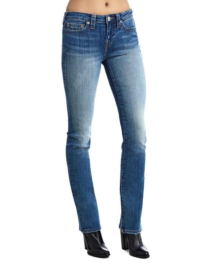 1b7fab79c True Religion Billie Mid Rise Straight Leg Jeans | Bloomingdale's