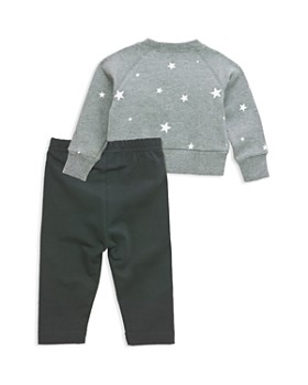 Sovereign Code - Girls' Briella And Alana Stars Sweatshirt & Leggings Set - Baby