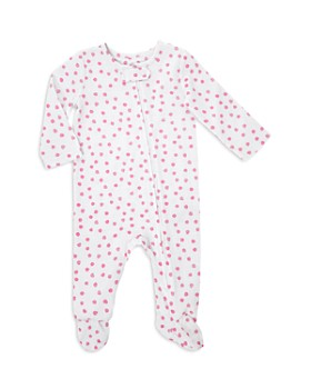 Aden and Anais - Girls' Dotted Footie - Baby