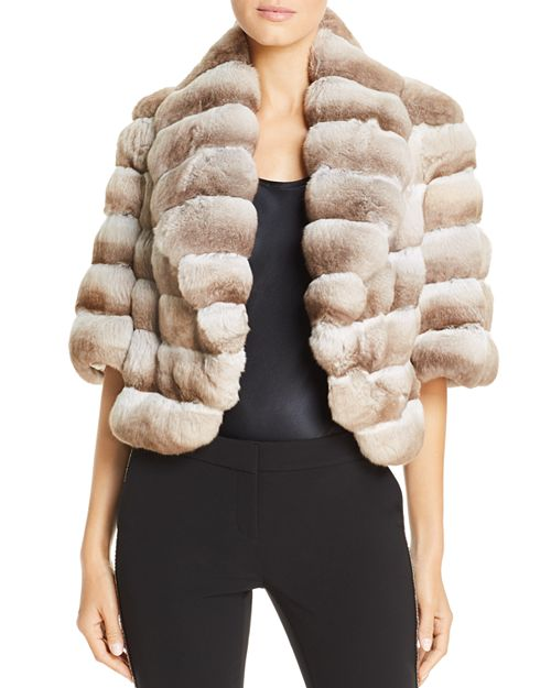 Maximilian Furs - Chinchilla Fur Bolero - 100% Exclusive