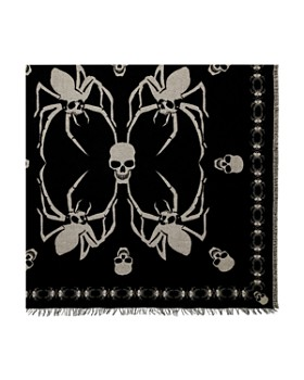 The Kooples - Spider-Skull Square Scarf
