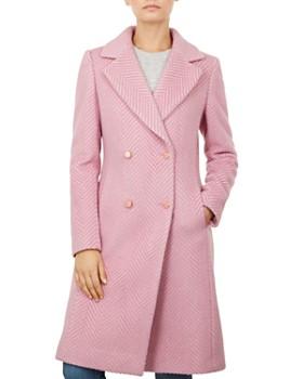 Ted Baker - Saffra Striped Coat