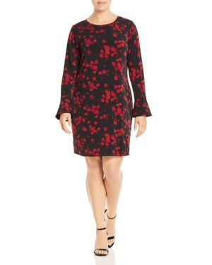 Michael Michael Kors Plus Eden Rose Print Dress