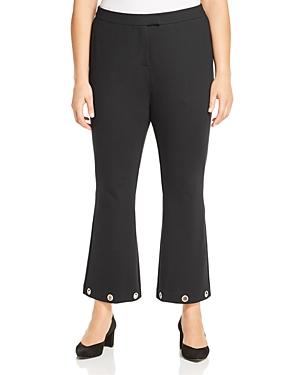 Michael Michael Kors Plus Grommet Cuff Flare Pants