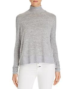 rag & bone/JEAN - Bowery Button-Back Turtleneck Sweater