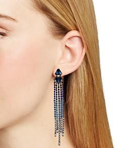 Rebecca Minkoff - Crystal Fringe Earrings