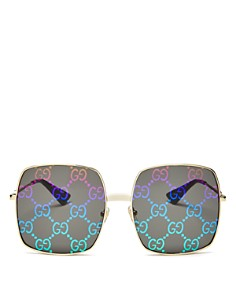 Gucci - Women's Logo Oversized Square Sunglasses, 60mm