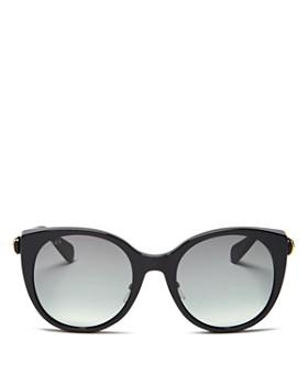 Gucci - Women's Cat Eye Sunglasses, 54mm