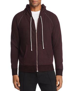 M SINGER Classic Hooded Sweatshirt in Raisin