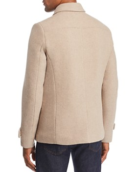 Scotch & Soda - Classic Caban Double-Breasted Peacoat