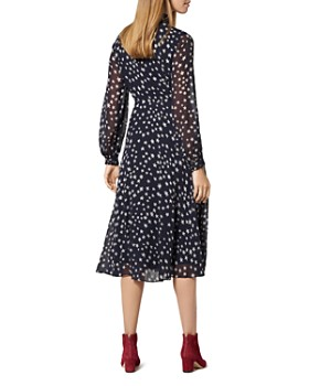 L.K.Bennett - Filia Silk Star-Print Dress
