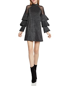 BCBGeneration - Tiered-Sleeve A-Line Dress