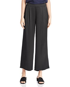 Eileen Fisher - Pleated Silk Pants