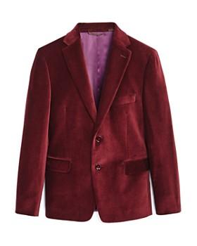 Michael Kors - Boys' Red Velvet Sport Jacket - Big Kid