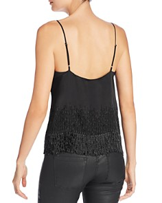 CAMI NYC - Dale Beaded-Fringe Camisole Top