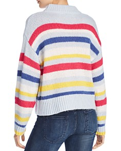Rebecca Minkoff - Brittany Multicolor Striped Sweater