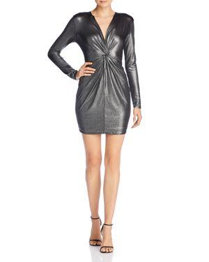 Aqua Shine Knot-Front Dress - 100% Exclusive