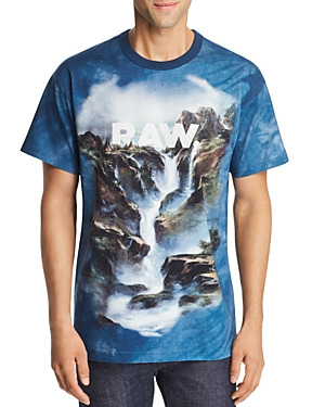 G-Star Raw X JADEN SMITH FORCE OF NATURE WATER GRAPHIC LOOSE FIT TEE