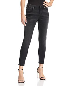 BLANKNYC - Embellished Tuxedo Stripe Skinny Jeans in Superwoman - 100% Exclusive