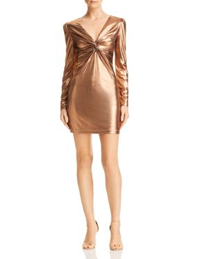 Rachel Zoe Bailey Metallic Mini Dress - 100% Exclusive