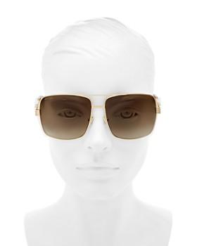 96015132f004 ... 61mm Jimmy Choo - Women s Tonia Brow Bar Square Sunglasses