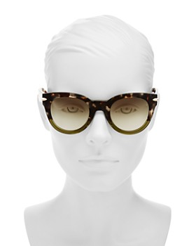 rag & bone - Women's Round Sunglasses, 50mm